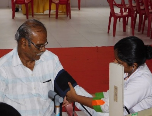 Mega free health check-up, eye testing and blood donation camp