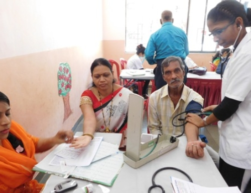Free medical and health check up camp at juinagar, navi mumbai