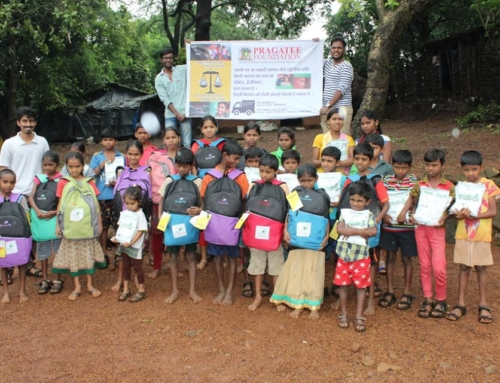Distribution of Nutrition & School kit to underprivileged students