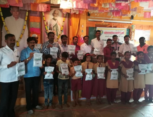 Distribution of Nutrition & School kit to Bhairavnath Vidyalaya Students