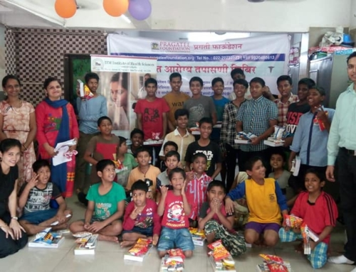 Celebrated diwali with orphanage home