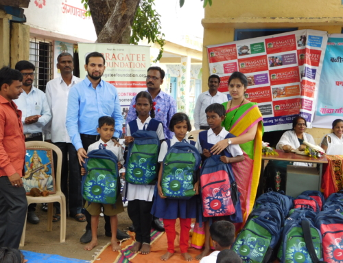 Distributed an Educational Kits to farmer's children's