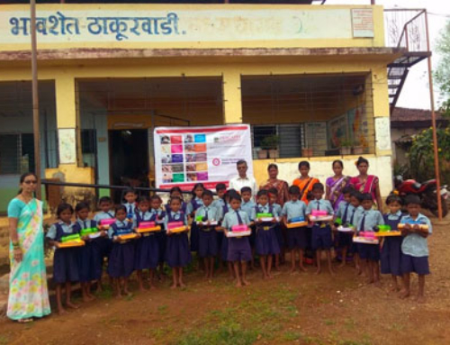 Education kit distributed to underprivileged students